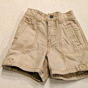 GYMBOREE cream shorts